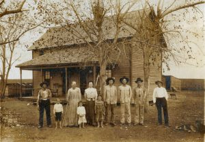 The family of William Henry Upchurch, c. 1910